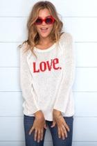 Love Raglan Sweater