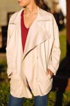 Open Draped Jacket