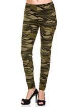 Camouflage Print Leggings