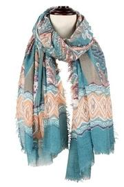 Colorful Paisley Scarf