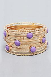 Lilac Bangle Set