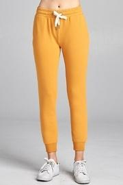 Cropped Slim Joggers