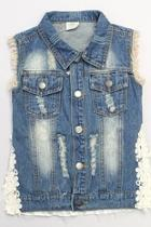 Dark Denim Vest