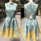Maureen Printed Dress