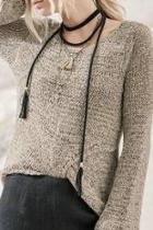 Mocha Knit Top