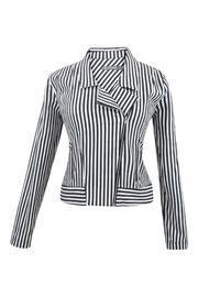 Striped Cotton Jacket