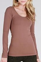Fitted Long Sleeve Top
