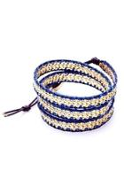 Woven Gold Wrap-bracelet