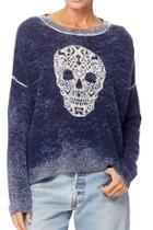 Skull Cashmere Pullover