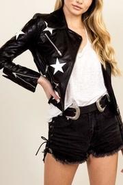Star Leather Jacket