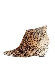 Heeled Leopard Bootie