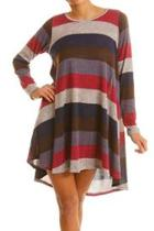Knit Stripe Dress