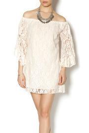Elan Lace Off Shoulder Dress