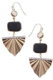 Golden Deco Earrings
