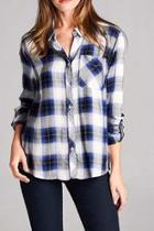 The Zoey Plaid Top