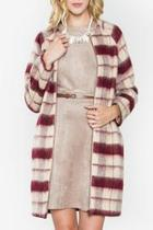 Elizabeth Plaid Coat