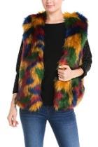 Colorful Fur Vest