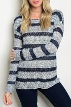 Lena Striped Sweater