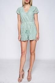 Sage Lace Rompers