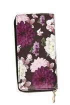 Purple Floral Wallet