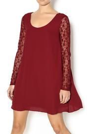 Lace Burgundy Dress