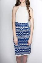 Highneck Fitted Dress