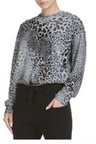Grey Leopard Pullover