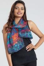 Colorful Satin Scarf