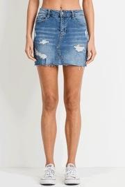 Harper Distressed Skirt
