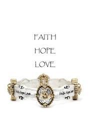 Faith-hope-love Bracelet