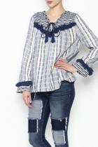 Margot Stripe Knit Top