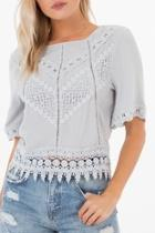 Gracie Crochet Top