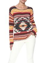 Aztec Cotton Sweater