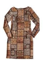 Block Patterned Dress