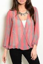 Sara Striped Blouse