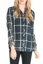 Emma Velvet-back Shirt