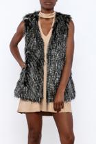 Agneta Faux Fur Vest
