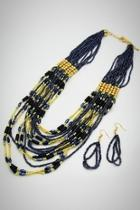 Gray Beads Necklace