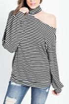 One-shoulder Luna Top