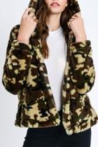 Furry Camo Jacket