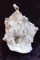 Quartz Crystals Pendant