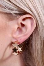 Circle-of-stars Earrings
