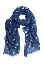 Foil Anchor Scarf