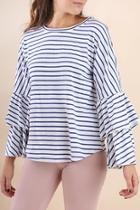 Striped Julia Top