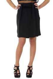 Sakina Velvet-belt Short Skirt
