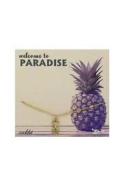 Pineapple Charm Anklet
