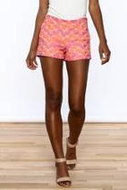 Bright Crochet Shorts