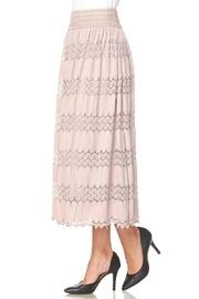 Lacy Belted Skirt