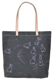 Embroidered Rabbits Tote
