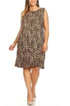 Leopard Knot Dress